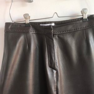 Maxmara leather pants
